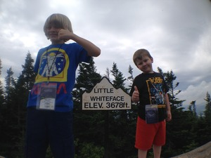 Boys and Little Whiteface